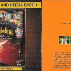 CDs de Música: BARRY MANILOW AND DEBRA BYRD - LET ME BE YOUR WINGS - THUMBELINA. Lote 232526730