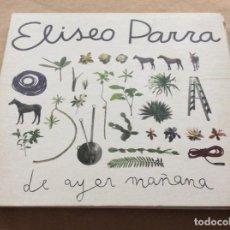 CDs de Música: ELISEO PARRA. DE AYER MAÑANA. HARMONÍA MUNDI. DIGIPACK.. Lote 232561675