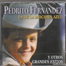 CDs de Música: PEDRITO FERNANDEZ - LA DE LA MOCHILA AZUL (CD SONY 2001) NUEVO. PRECINTADO.. Lote 232603470