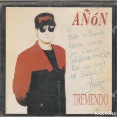 CDs de Musique: AÑON - TREMENDO (CD EMI 1992) CON DEDICATORIA FIRMADA POR AÑON. Lote 232603615