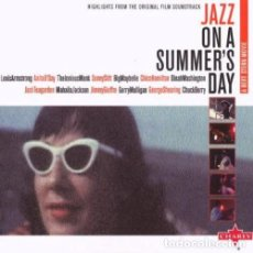 CDs de Música: JAZZ ON A SUMMER'S DAY (HIGHLIGHTS FROM THE ORIGINAL FILM SOUNDTRACK) - NUEVO Y PRECINTADO. Lote 232612565