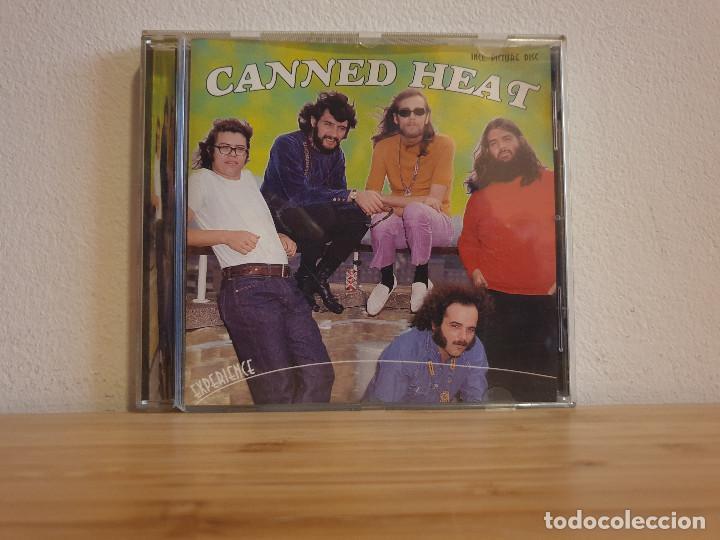 CD DE MUSICA CANNED HEAT_EXPERIENCE (Música - CD's Rock)
