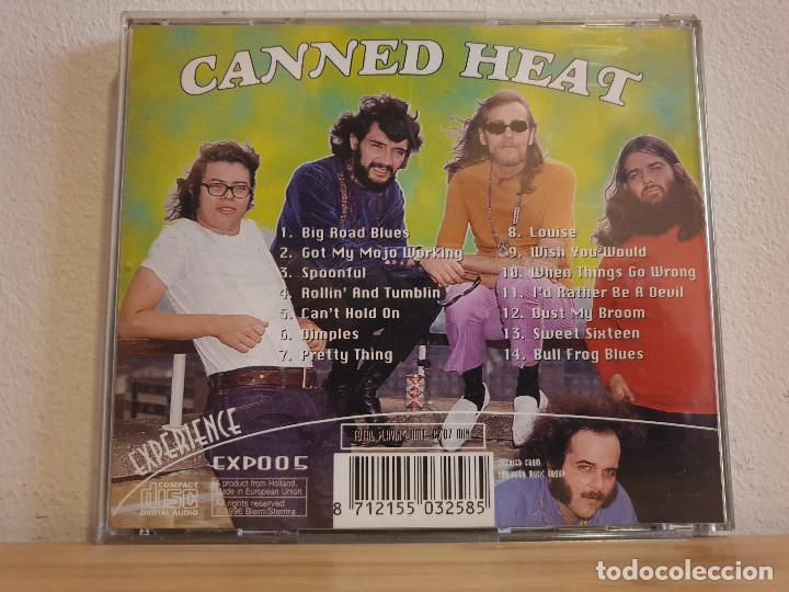 CDs de Música: CD de Musica Canned heat_Experience - Foto 2 - 232635690