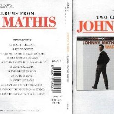 CDs de Música: JOHNNY MATHIS - WARM / SWING SOFTLY. Lote 232635995