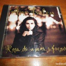 CDs de Música: ANA BELEN ROSA DE AMOR Y FUEGO CD ALBUM 1989 1ª EDICION VICTOR MANUEL JOSE MARIA CANO 11 TEMAS. Lote 232638200