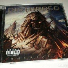 CDs de Música: DISTURBED-IMMORTALIZED CD 2015-JUDAS-MAIDEN. Lote 232644785