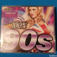 CDs de Música: 100% 90S 3CD THE BIGGEST HITS FROM THE DECADE OF DANCE. Lote 232654655