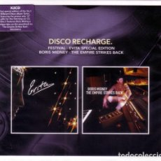 CDs de Música: FESTIVAL / BORIS MIDNEY – EVITA (SPECIAL EDITION) / THE EMPIRE STRIKES - 2 CDS - NUEVO Y PRECINTADO. Lote 232690065