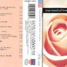 CDs de Música: YOUR HUNDRED BEST OPERA TUNES VI. Lote 232709395