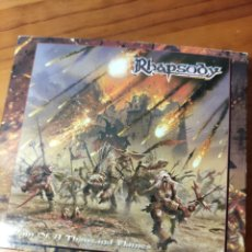 CDs de Música: CD RHAPSODY. RAIN OF A THOUSAND FLAMES. Lote 232713020