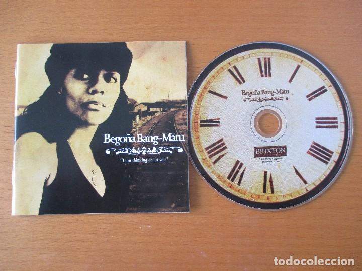 CDs de Música: BEGOÑA BANG-MATU I AM THINKING ABOUT YOU BRIXTON RECORDS 2005 - Foto 2 - 232730590