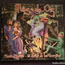 CDs de Música: CD SINGLE 2000 - MAGO DE OZ / FIESTA PAGANA + EL SEÑOR DE LOS GRAMILLOS. Lote 232761635
