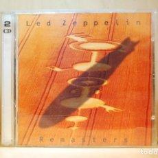 CDs de Musique: LED ZEPPELIN - REMASTERS - 2 CD -. Lote 232769645