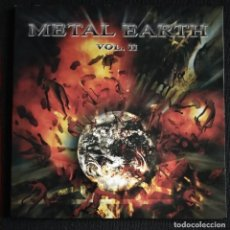 CDs de Música: CD 2002 - METAL EARTH VOL. II - 8 TRACKS -. Lote 232795545