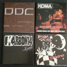 CDs de Música: HEAVY METAL LOTE 4 CD - KARBON 14 / KOMA / BANDA JACHIS / DDC. Lote 232798840