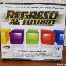 CDs de Música: CD REGRESO AL FUTURO 3CDS FALTA EL CD 1 Y EL CD 2 ESTÁ DUPLICADO. Lote 232846820