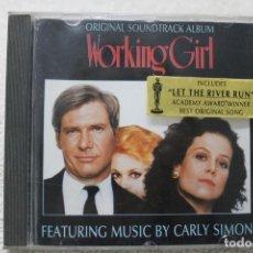 CDs de Música: BSO CD WORKING GIRL ARMAS DE MUJER CARLY SIMON. Lote 232861895