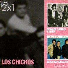 CDs de Música: DOBLE CD ALBUM: LOS CHICHOS - AMOR DE COMPRA Y VENTA Y BAILARÁS CON ALEGRÍA - AÑO 2011. Lote 232905555