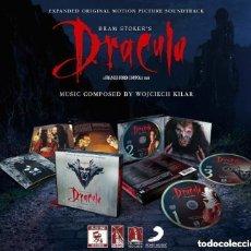 CDs de Música: DRACULA DE BRAM STOKER WOJCIECH KILAR BSO OST EXTENDIDA LIMITADA REMASTERIZADA 3 CD NUEVO PRECINTADO. Lote 232941895