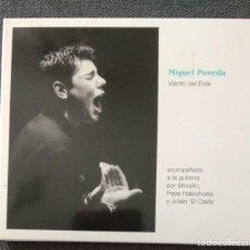 CDs de Música: RAREZA CD - MIGUEL POVEDA CON MORAÍTO Y PEPE HABICHUELA / VIENTO DEL ESTE. Lote 232943220