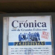 CDs de Música: CRÓNICA PERIODISTAS DOBLE CD. Lote 232945190