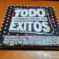 CDs de Música: TODO EXITOS. LOS NÚMEROS UNO DEL AÑO. DOBLE CD + DVD. BUEN ESTADO. AÑO 2008. Lote 233046115
