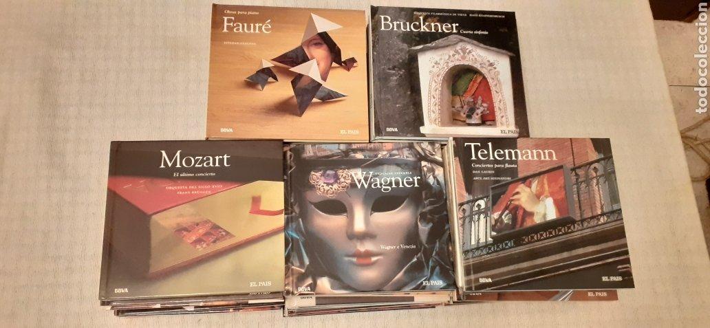 COLECCION COMPLETA DE 50 CD,S MÁS LIBRO DE MÚSICA CLASICA, (Música - CD's Clásica, Ópera, Zarzuela y Marchas)