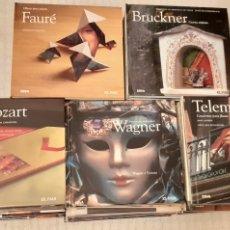 CDs de Música: COLECCION COMPLETA DE 50 CD,S MÁS LIBRO DE MÚSICA CLASICA,. Lote 233164320