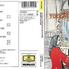 CDs de Música: JOHANN SEBASTIAN BACH - TOCCATAS AND FUGUES - DESCATALOGADO. Lote 233224270