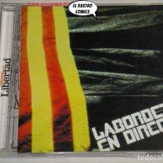 CDs de Musique: LABORDETA EN DIRECTO, CD. Lote 233290780