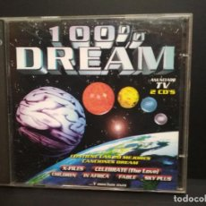 CDs de Música: 100% DREAM DOBLE CD BLANCO Y NEGRO 1996 PEPETO. Lote 233335135