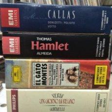 CDs de Música: OPERA (5 OPERAS COMPLETAS) - LOTE 3. Lote 233350015