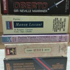 CDs de Música: OPERA (5 OPERAS COMPLETAS) - LOTE 9. Lote 233351635