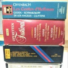 CDs de Música: OPERA (5 OPERAS COMPLETAS) - LOTE 13. Lote 233352325