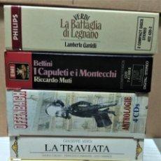 CDs de Música: OPERA (5 OPERAS COMPLETAS) - LOTE 17. Lote 233353000