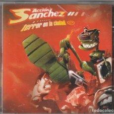 CDs de Música: ACCION SANCHEZ - TERROR EN LA CIUDAD (CD FIEBRE RECORDS 2004). Lote 233434485