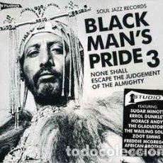 CDs de Música: VARIOUS - BLACK MAN'S PRIDE 3 (NONE SHALL ESCAPE THE JUDGEMENT OF THE ALMIGHTY) (2XCD, COMP). Lote 233444570
