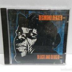 CDs de Música: DISCO CD. DESMOND DEKKER – BLACK AND DEKKER. COMPACT DISC.. Lote 233462845
