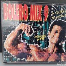 CDs de Música: CD MUSICA BOLERO MIX 9 QUIQUE TEJADA MIX VARIOS. Lote 233463545