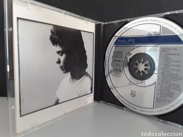 CDs de Música: CD MUSICA CAMARON DE LA ISLA - CASTILLO DE ARENA- CON PACO DE LUCIA - Foto 4 - 233463780