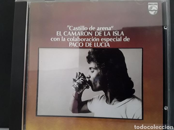 CD MUSICA CAMARON DE LA ISLA - CASTILLO DE ARENA- CON PACO DE LUCIA (Música - CD's Pop)
