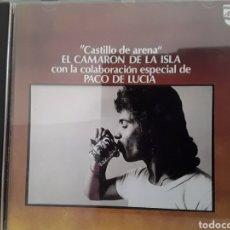 CDs de Música: CD MUSICA CAMARON DE LA ISLA - CASTILLO DE ARENA- CON PACO DE LUCIA. Lote 233463780