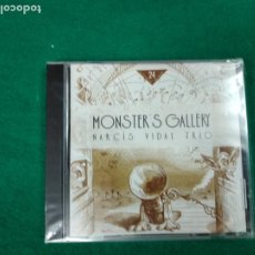 CDs de Música: MONSTER'S GALLERY. NARCIS VIDAL TRIO.TALLER DE MUSICS. 2000. CD PRECINTADO.. Lote 233492345