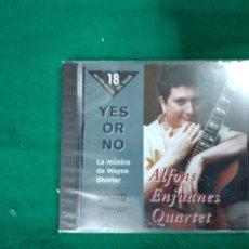 CDs de Música: ALFONS ENJUANES QUARTET. YES OR NO.TALLER DE MUSICS 1997. CD PRECINTADO.. Lote 233492950