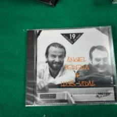 CDs de Música: ANGEL PEREIRA + LLUIS VIDAL. TALLER DE MUSICS 1997. CD PRECINTADO.. Lote 233493605