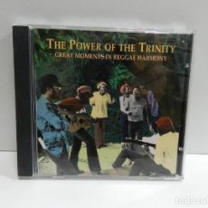 CDs de Musique: DISCO CD. VARIOS ‎– THE POWER OF THE TRINITY: GREAT MOMENTS IN REGGAE HARMONY. COMPACT DISC.. Lote 233509605