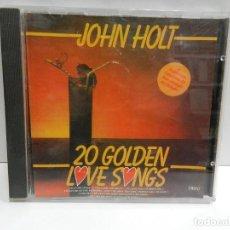 CDs de Música: DISCO CD. JOHN HOLT – 20 GOLDEN LOVE SONGS. COMPACT DISC.. Lote 233510145