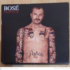 CDs de Música: MIGUEL BOSE (PAPITOUR) CD + DVD 2007 LAS VENTAS - ANA TORROJA, ALASKA, BIMBA BOSE, LEONOR WALTING. Lote 233572425