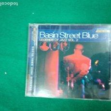 CDs de Música: BASIN STREET BLUE. LEGENDS OF JAZZ VOL. 2 CD 1999 PNEC RECORDS.. Lote 233646540