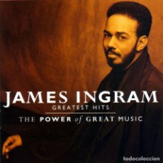 CDs de Música: JAMES INGRAM - THE BEST OF - THE POWER OF GREAT MUSIC. Lote 233674910